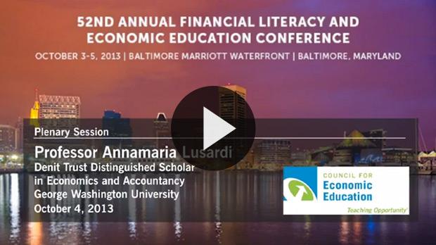 Professor Annamaria Lusardi Speaks at Teachers Conference