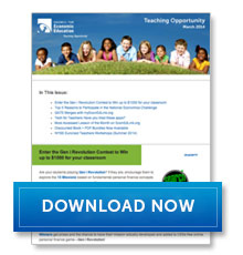 Download Teaching Opportunity - April 2014