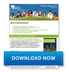 Download Teaching Opportunity - August 2014