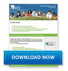 Download Teaching Opportunity - October 2014