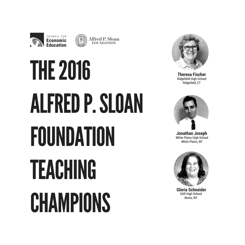 BLOG Image - 2016 ALFRED P. SLOAN FOUNDATION TEACHING CHAMPIONS