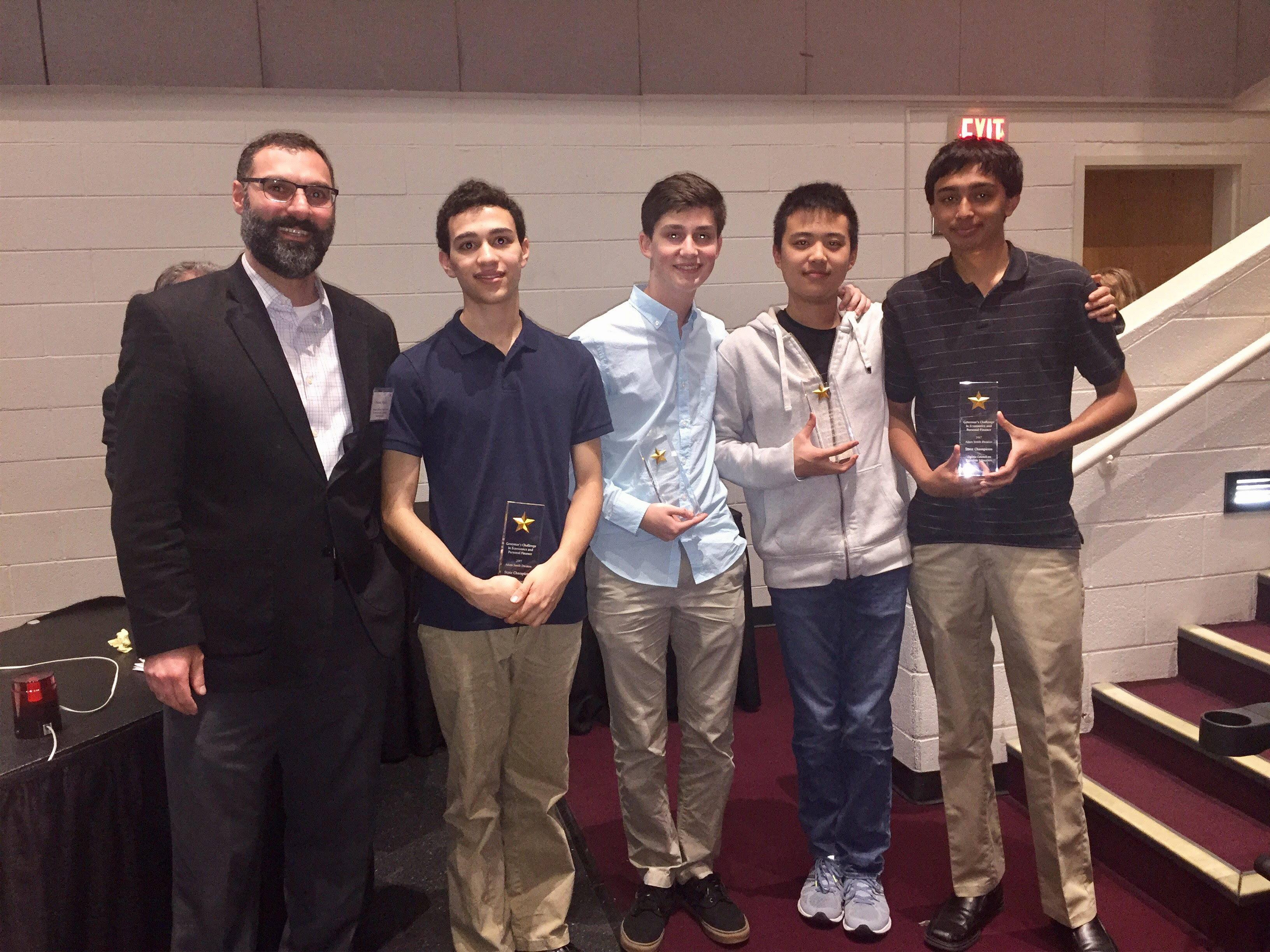 Thomas Jefferson School for Science & Technology - Franklyn Wang  Mihir Patell Matthew Bacon Kai Amelung