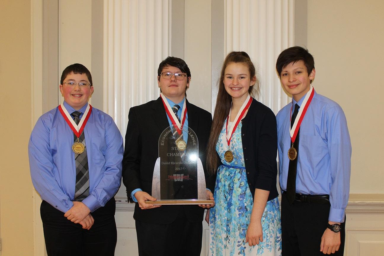 Bellevue East High School - Breck O'Grady, Andrew Sansone, Elizabeth Foral, Michael Ermitano