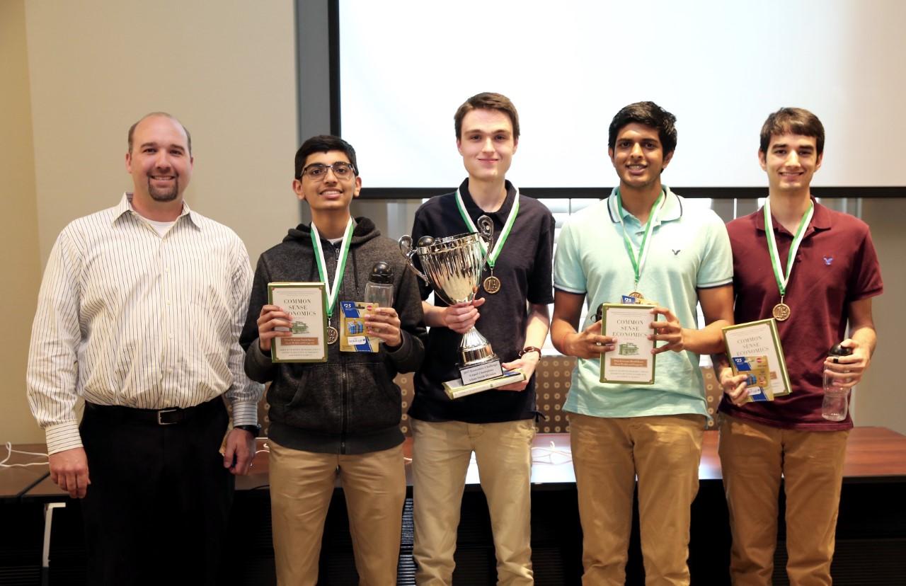 Chattahoochee High School - Tim Reeder (coach), Abhinav Kumar, Michael Sawchuk, Saitej Guttikonda, Kalen Patton