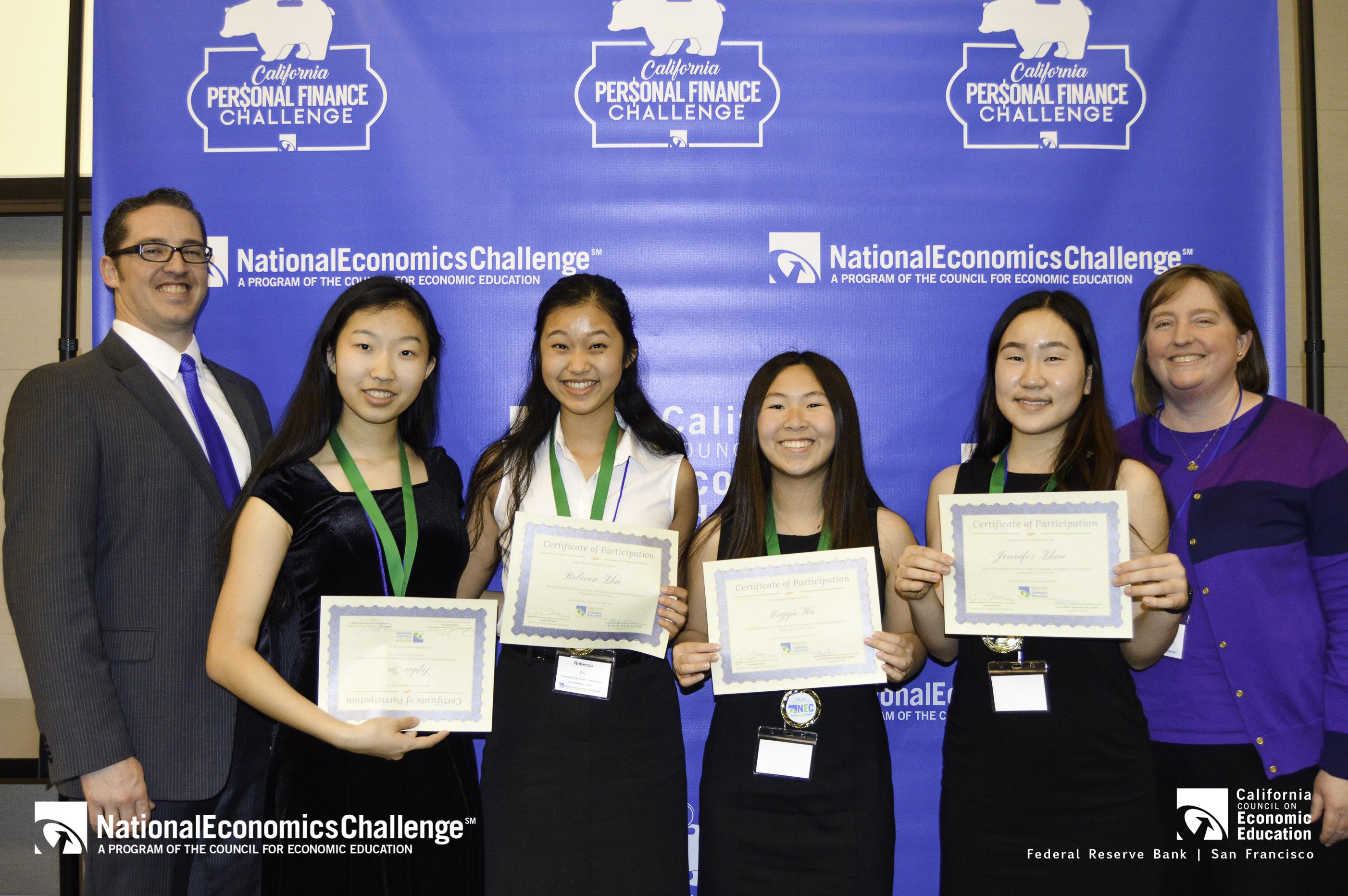 Homestead High School - Maggie Wu, Sophie Yu, Rebecca Zhu, Jennifer Zhou