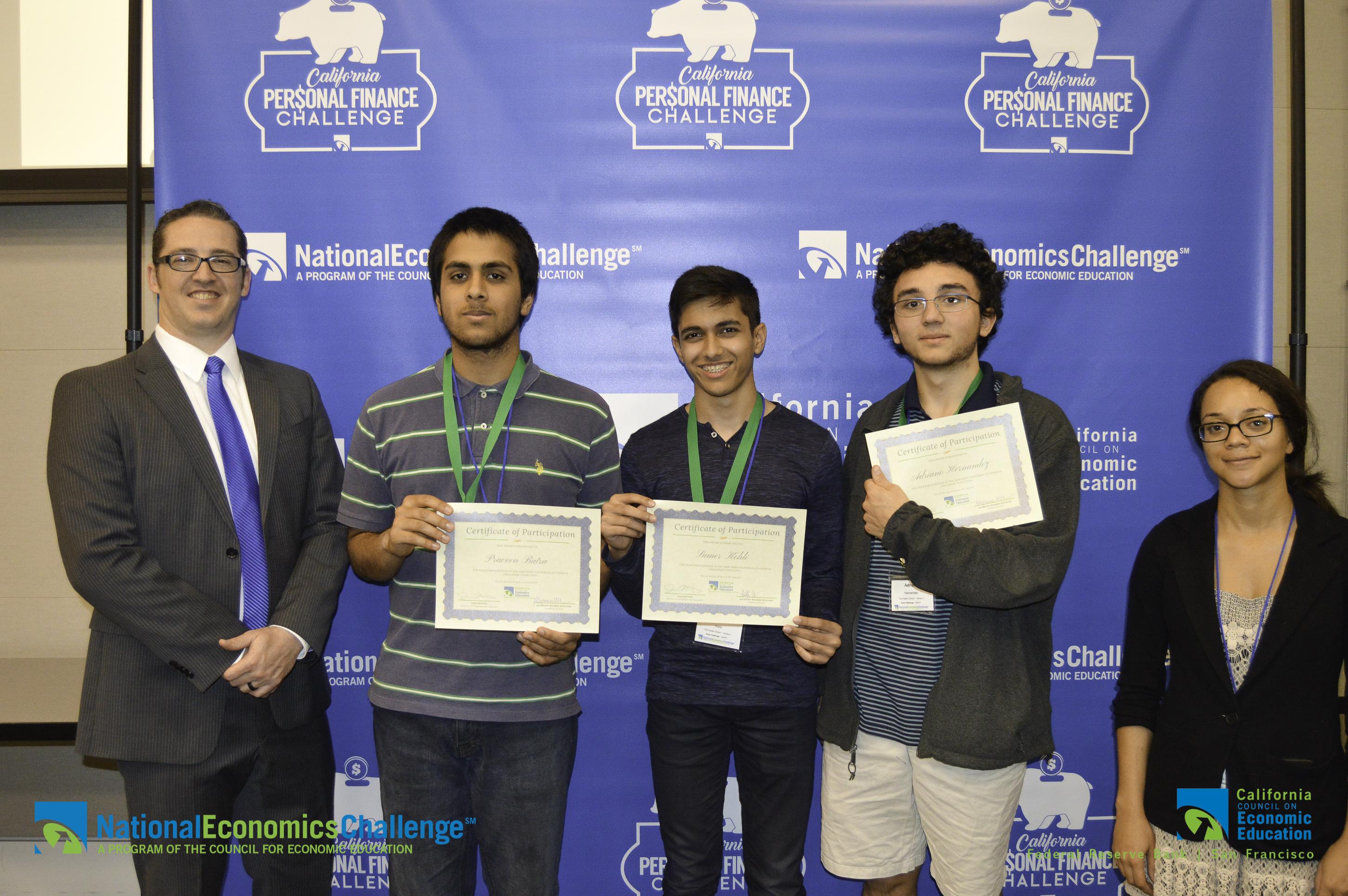 The Harker School - Praveen Batra, Sumer Kohli, Adriano Hernandez