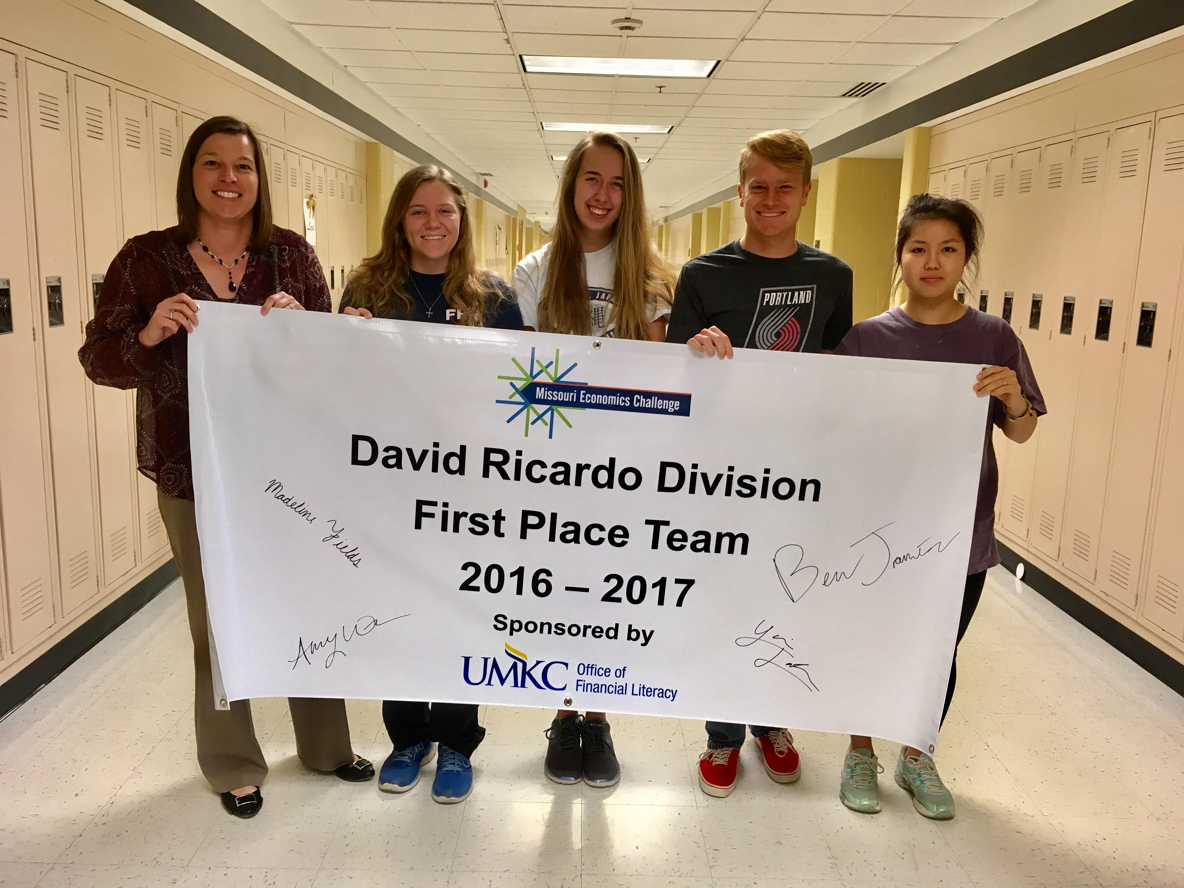 Missouri First Place Team